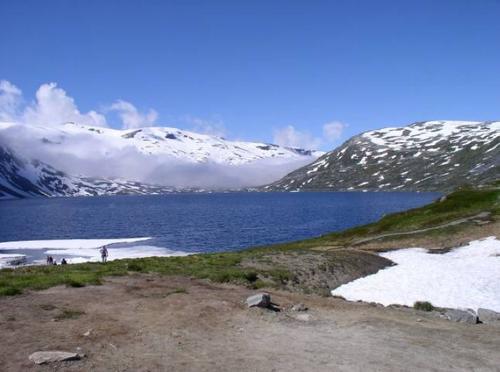 Mooi uitzicht in de bergen