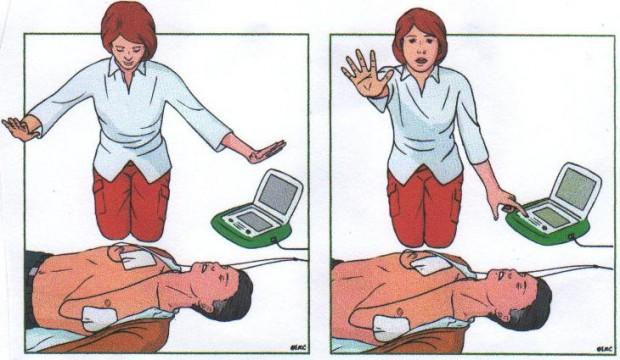 AED schokken