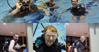 Vijf nieuwe duikers!