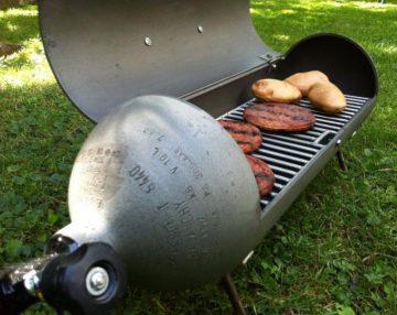 Duiken en barbecueën bij Ari